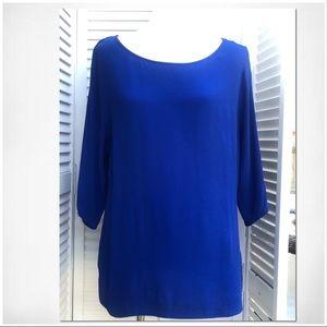 EUC Violet+Claire Lightweight Blue Shirt Sz L